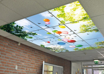 Plafond foto panelen